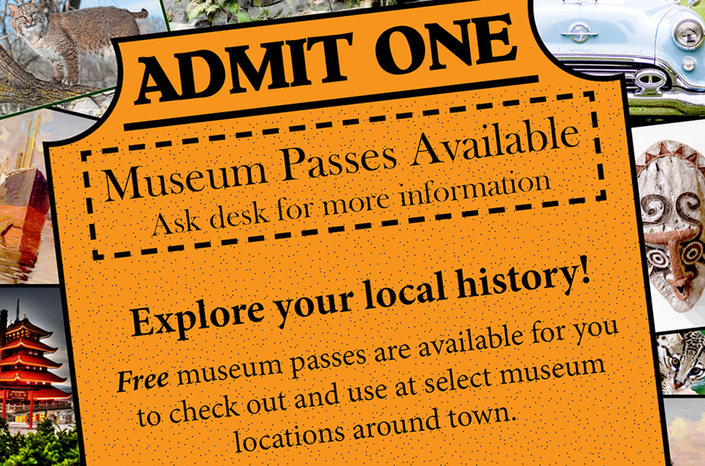 Museum passes graphic