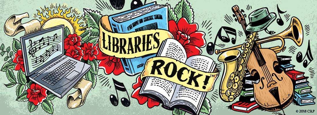 Image result for libraries rock 2018