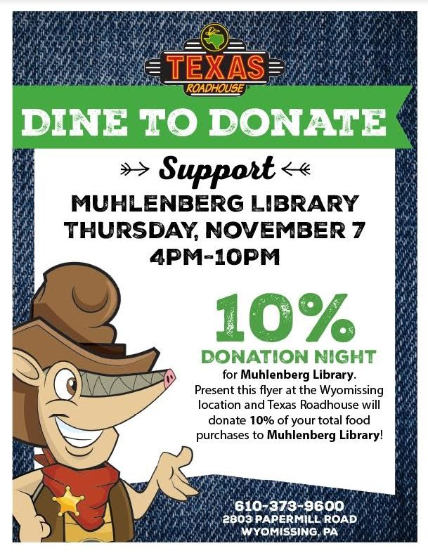 Texas Roadhouse Dine To Donate Night for MCL
