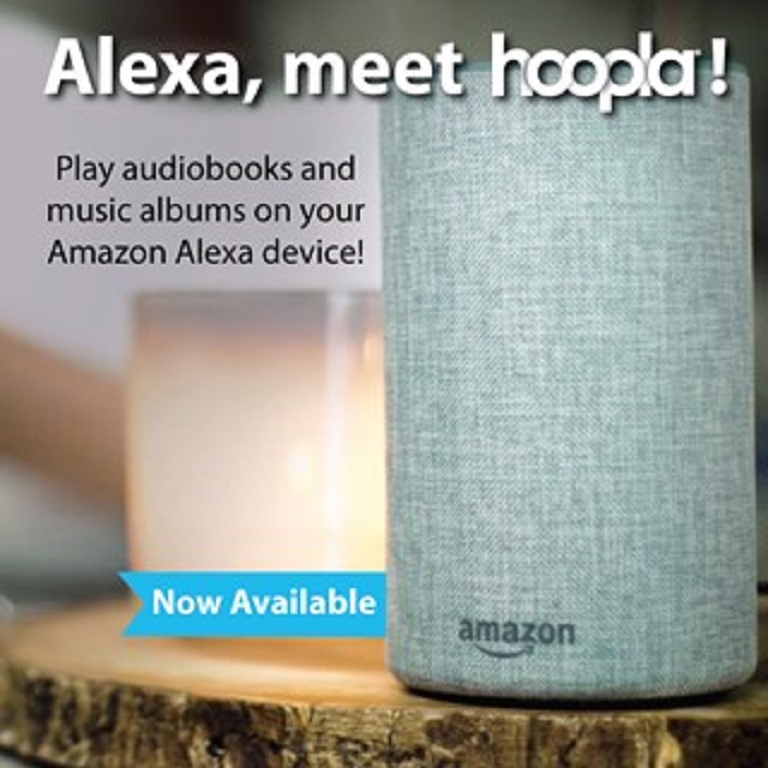 hoopla supports Amazon Alexa devices
