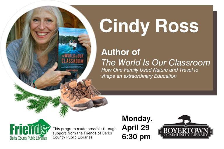 Author Cindy Ross