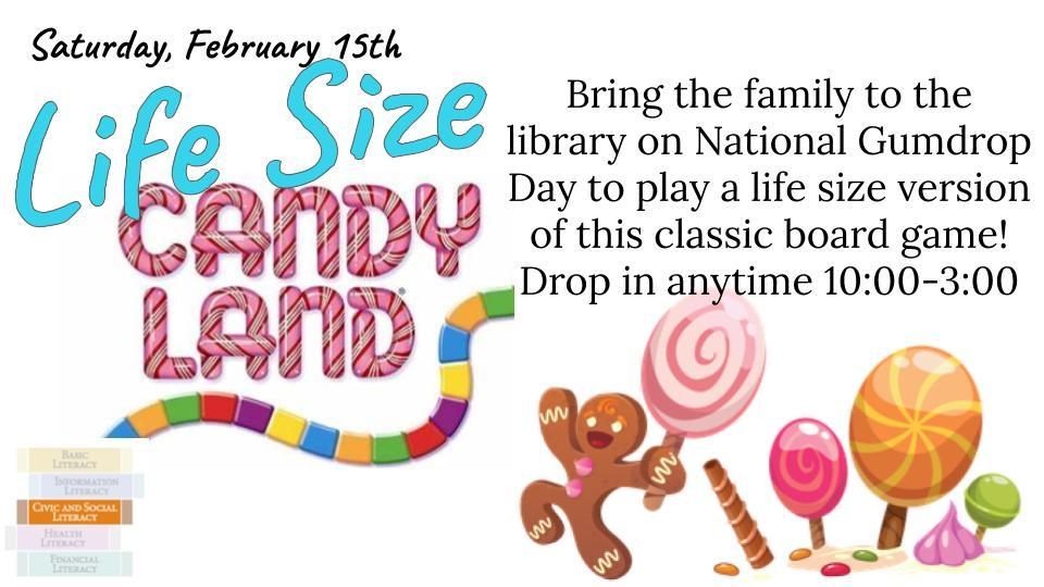 life size candy land