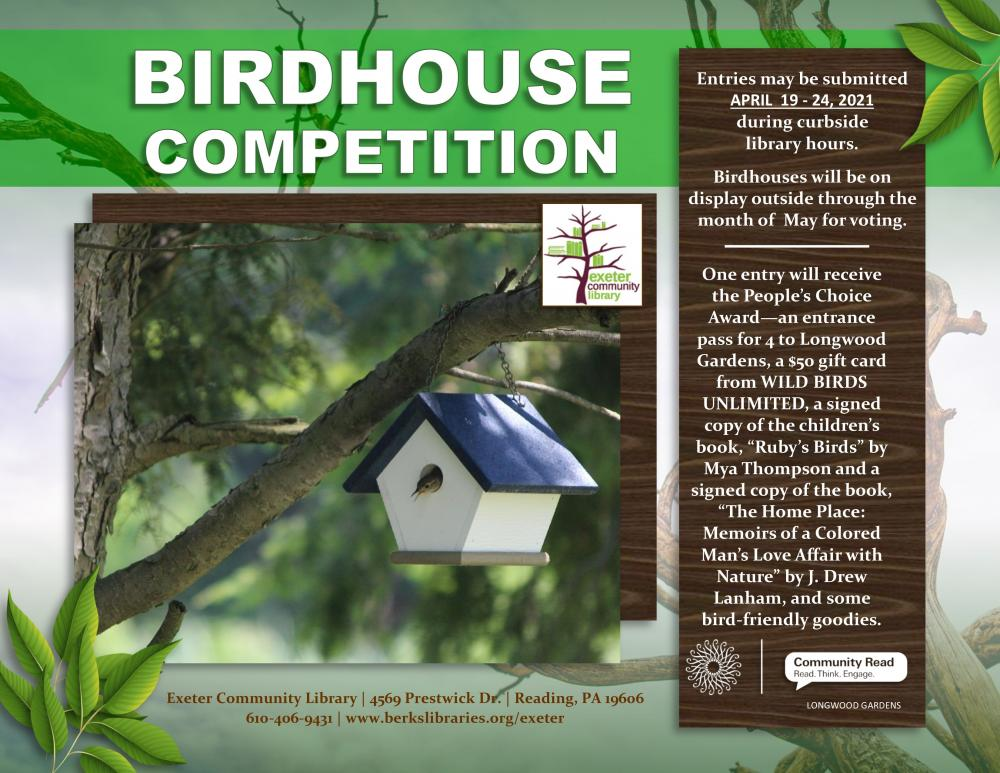 Birdhouse competition flyer