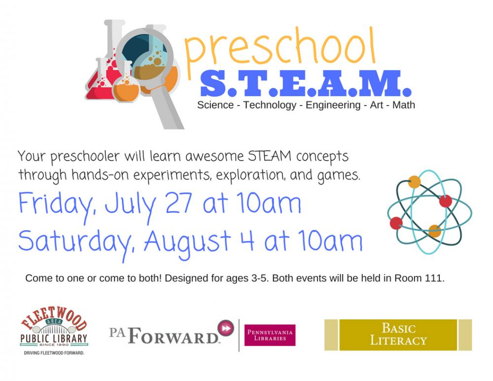preschool STEAM