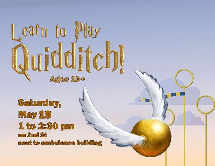 Quidditch on teen