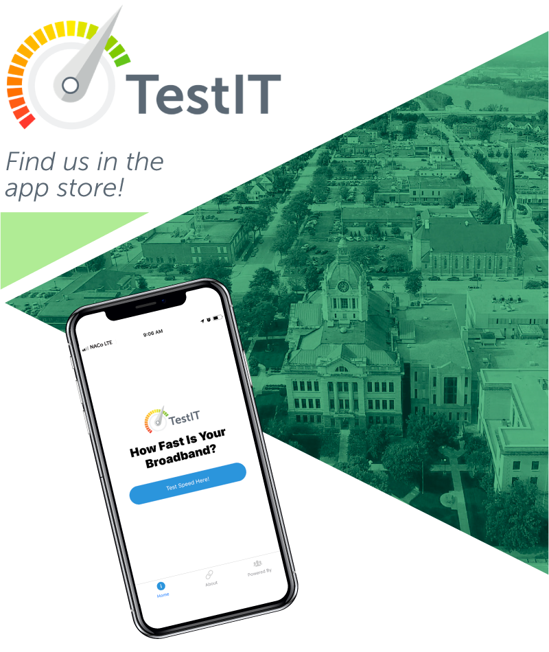 TestIt App with mobile phone