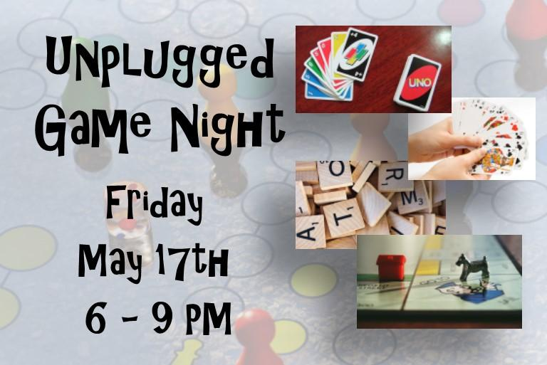 May 17th Game Night