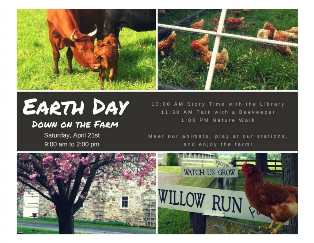Earth Day at Willow Run Farm
