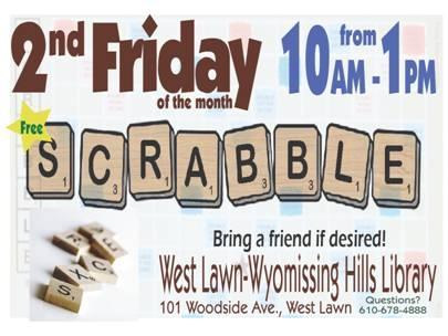 2nd Friday scrabble
