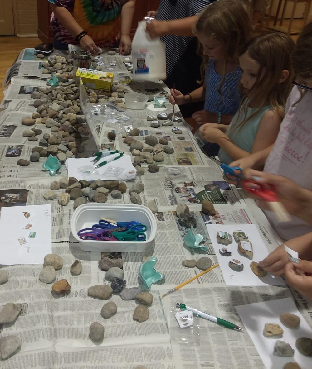 craft some story stones with us today