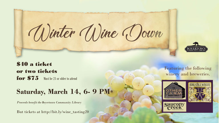 Winter Wine Down Event