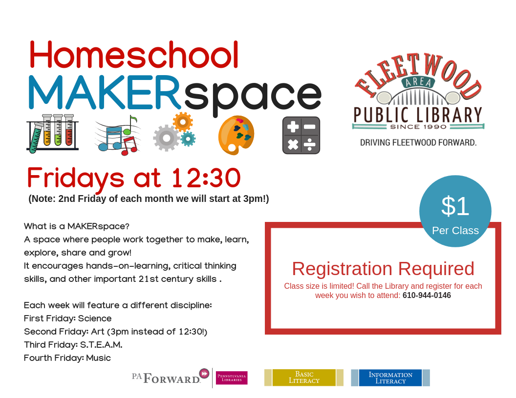 homeschool makerspace