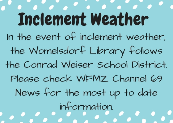 SWO Inclement Weather