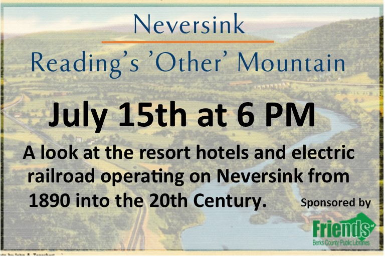 NEversink: Reading's Other Mountain