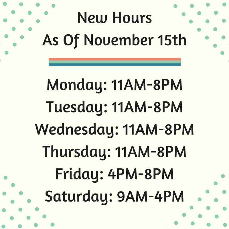 Womelsdorf New Hours