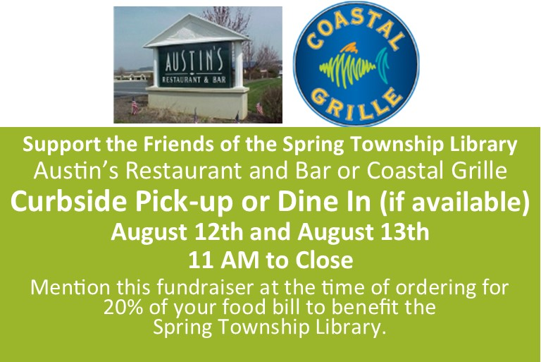 Fundraiser - August 12th and 13th from 11 AM to close.