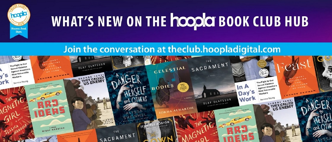 Hoopla for Book Clubs