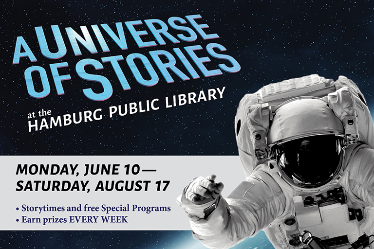 Summer Programs at Hamburg Public Library