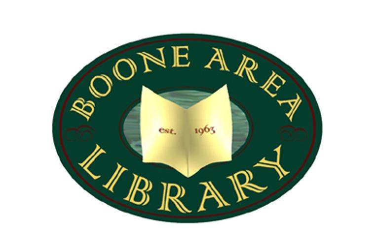 boone area library logo